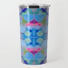 Staycation (blue) Travel Mug
