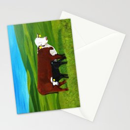On the paster Stationery Cards