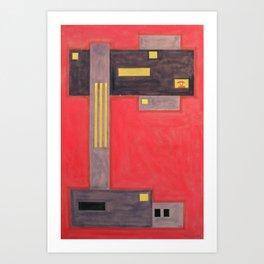 constructo visual 3 Art Print