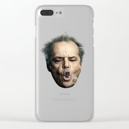 Jack Flew Over The Cuckoo's Nest Clear iPhone Case