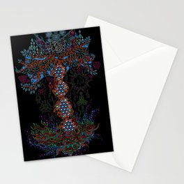 Psychedelic Yggdrasil World Tree of Life Stationery Cards