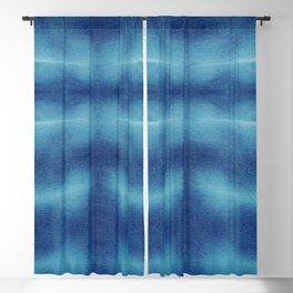 Tsuna Shibori Blackout Curtain