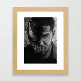 Eddie Brock/Venom Framed Art Print