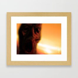Wake up Framed Art Print