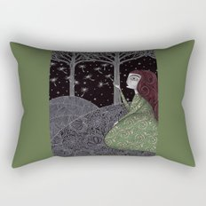 My Winter Stars Rectangular Pillow