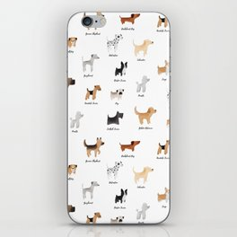 Lots of Cute Doggos - With Names iPhone Skin