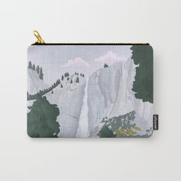 Yosemite National Park, Yosemite Falls, Waterfall, California Parks Carry-All Pouch