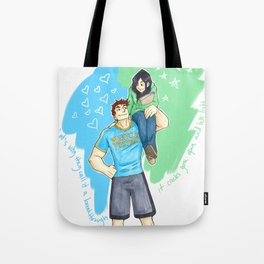 Eliza and Wallace Tote Bag