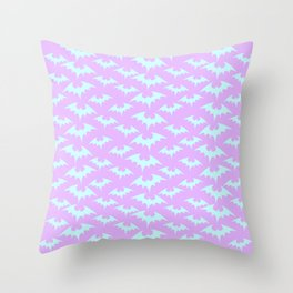 Pastel Queen of the Night Throw Pillow