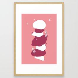 Cairn Framed Art Print