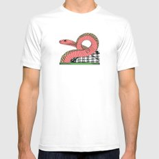 My Heart Is Yours MEDIUM White Mens Fitted Tee