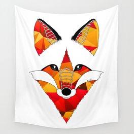 Fire Fox Wall Tapestry