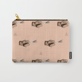Pattern Cut Carry-All Pouch