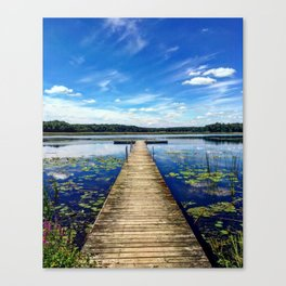 Chain O Lakes Canvas Print