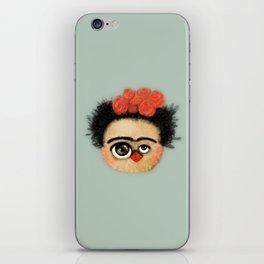 """""""Pies para qué los quiero si tengo alas para volar""""  (Frida Kahlo) iPhone Skin"""