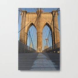 Brooklyn Bridge 1 Metal Print