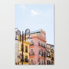 Exploring Seville Canvas Print