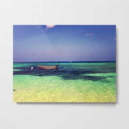 dinghy. Metal Print