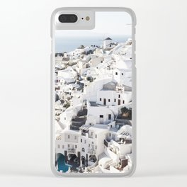 Oia Clear iPhone Case