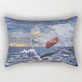 Deeper...into the Sea Rectangular Pillow