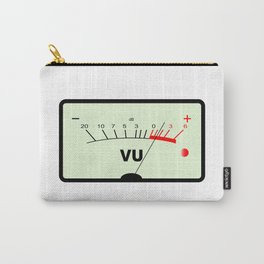 Audio Meter Carry-All Pouch