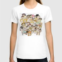 it crowd T-shirts featuring Crowd by cmdonodraws