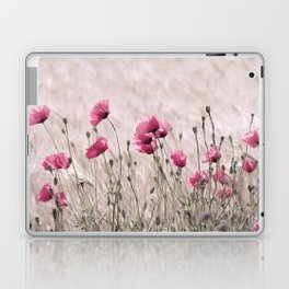 Poppy Pastell Pink Laptop & iPad Skin