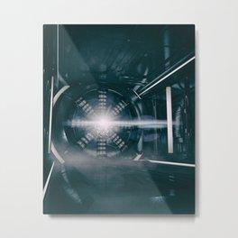 POLES Metal Print