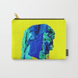 Azurite Face Carry-All Pouch