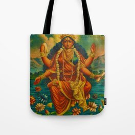 Rubino Yoga Zen Goddess Tote Bag