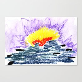 here comes the sun II Canvas Print