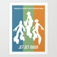 JET SET RADIO Art Print