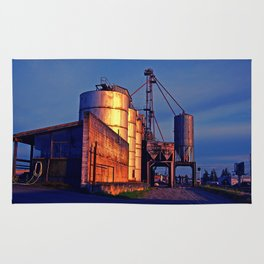 Urban grain depot Rug