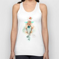 uk Tank Tops featuring Autumn by Ariana Perez