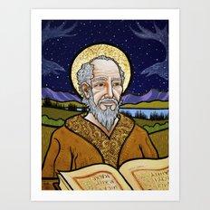 The Old Saint Art Print