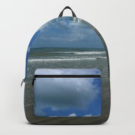 Dramatic Sky Over Litchfield Beach Backpack