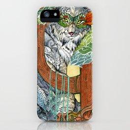 Masked Lynx iPhone Case