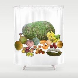 Exotic Fruit Shower Curtain