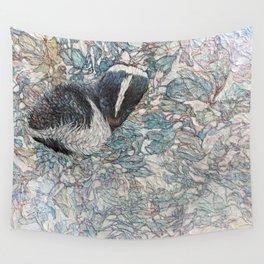 Winter Flower Wall Tapestry