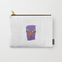 Bee Mine Valentine Carry-All Pouch