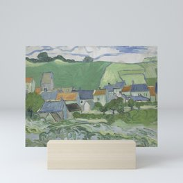 View of Auvers Mini Art Print