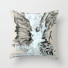 Local Gem # 5 - Lick Brook Throw Pillow