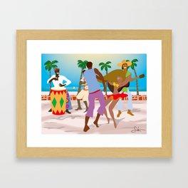 Dance Holiday! Framed Art Print