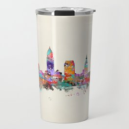 Cleveland Ohio Travel Mug