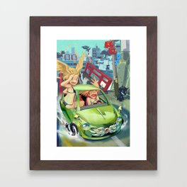 Drive! Framed Art Print