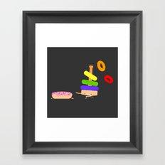Put a ring on it Framed Art Print