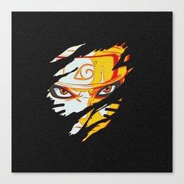 Naruto Face Canvas Print