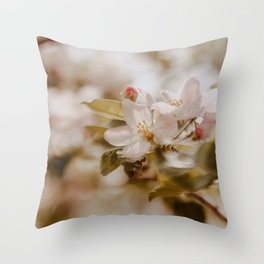 Fall in spring I Throw Pillow