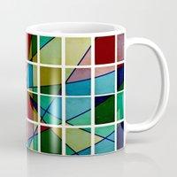 mosaic Mugs featuring Mosaic by Tammy Kushnir