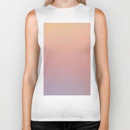 AFTER THOUGHTS - Minimal Plain Soft Mood Color Blend Prints Biker Tank